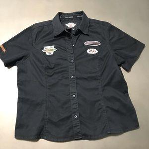 Women's Harley-Davidson Black Garage Shirt Size XL